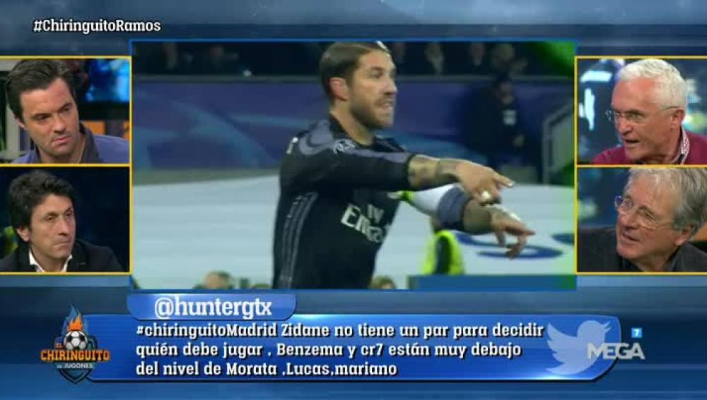 El partido de Sergio Ramos, a debate