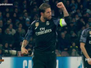 Sergio Ramos, capitán y salvador del Madrid