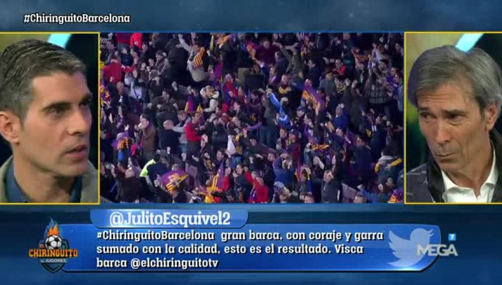 La victoria del Barça, a debate