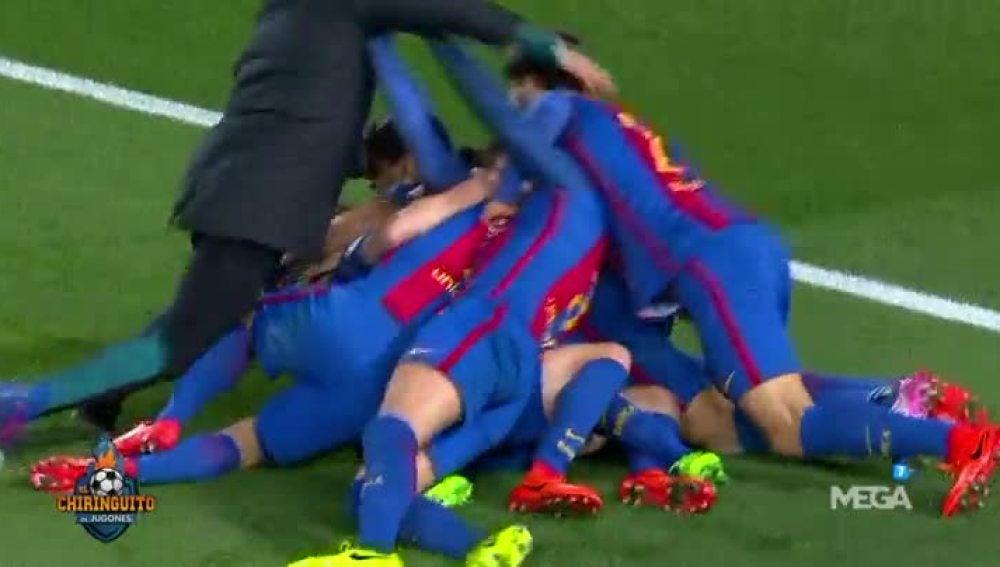 Los detalles de la celebración del Barça
