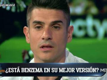 Álvaro Benito, sobre Benzema