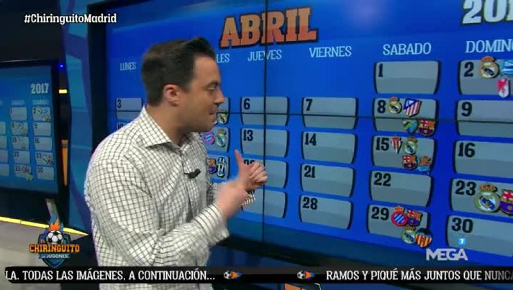 Nacho Peña analiza el calendario del Madrid