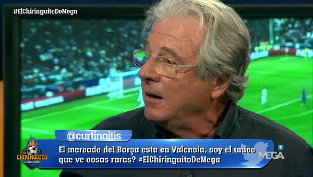 Jorge D'Alessandro debate en El Chiringuito