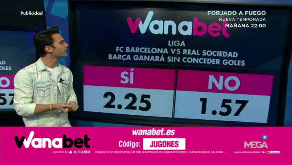 Diego Plaza con Wanabet
