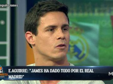 Edu Aguirre manda un mensaje a James