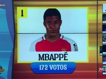 Mbappé, ganador del Chirijuicio