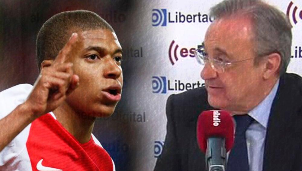 Mbappé y Florentino