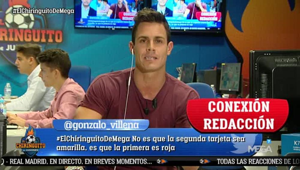 Edu Aguirre en la redacción