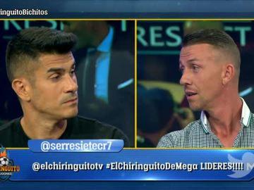 Álvaro Benito y Guti en El Chiringuito