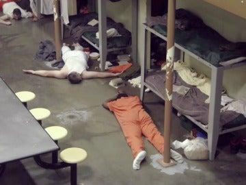 Una redada en busca de heroina en prisión