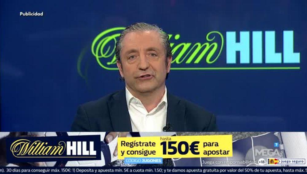 Mega tv william hill bienvenido a 39 el chiringuito 39 - Casa de apuestas william hill ...
