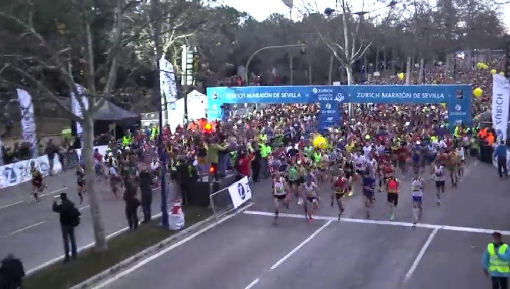 No te pierdas el domingo el  'Zurich Maratón de Sevilla' en Mega