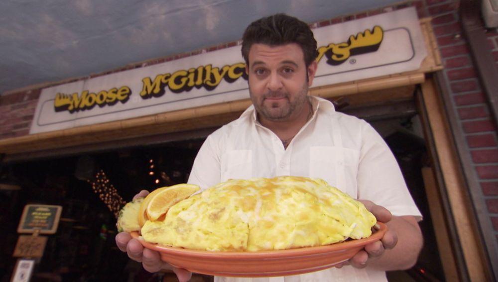 El reto de la tortila de 265 kg