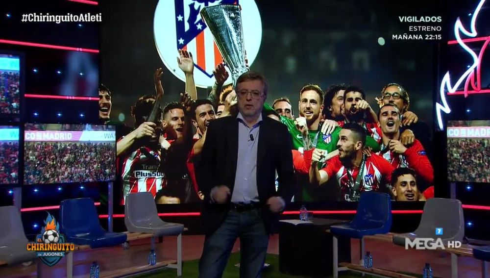 José Damián González, emocionado