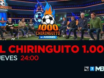 'El Chiringuito 1000', el jueves en MEGA