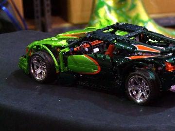 Coche de Lego 'customizado'