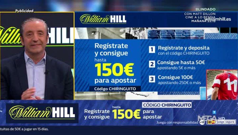 William Hill en El Chiringuito