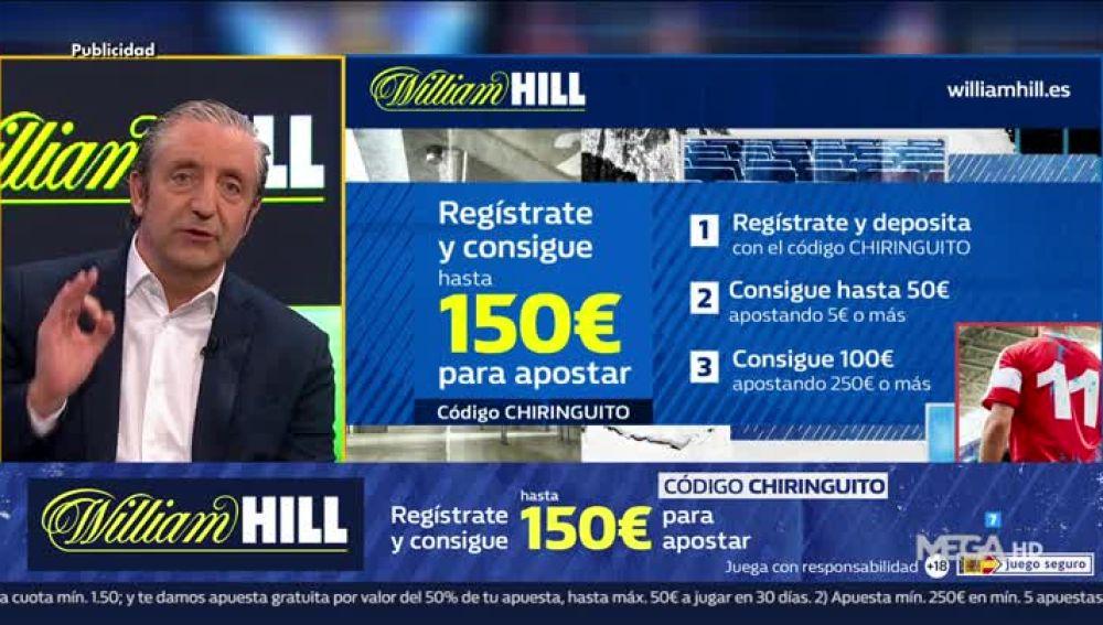 Josep Pedrerol con William Hill