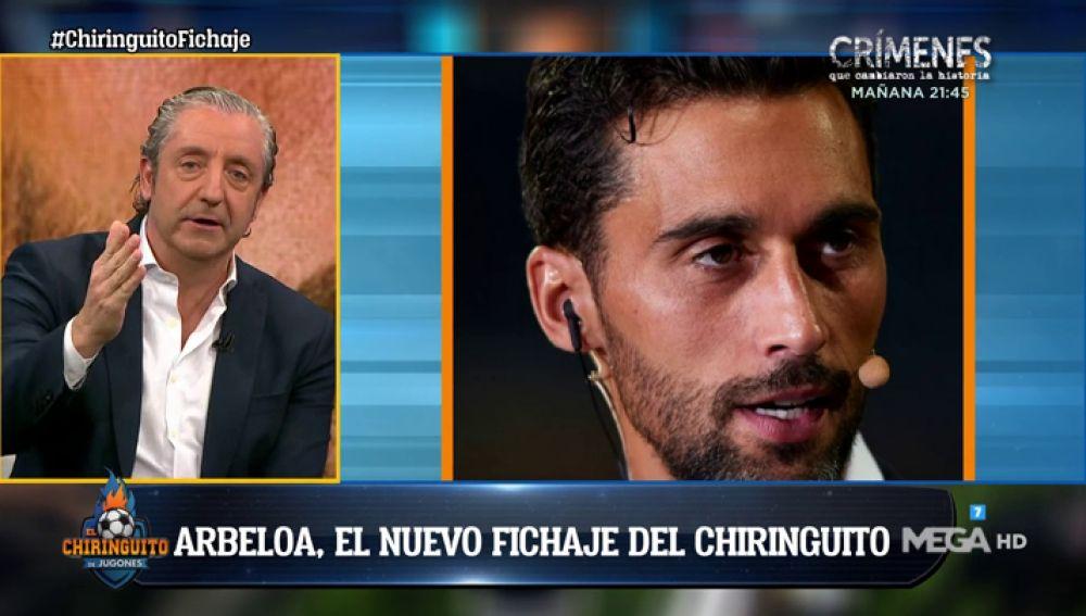 Arbeloa es el fichaje del año en 'El Chiringuito'