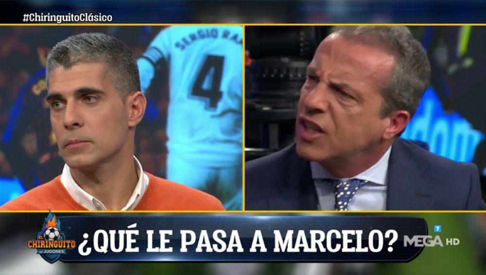 """Cristóbal Soria: """"Que le diga las cosas a Marcelo en el vestuario, no en una sala de prensa"""""""