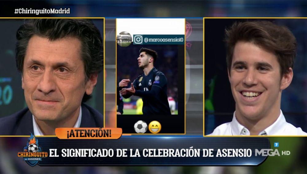 """Álex Silvestre: """"La celebración de Marco Asensio es porque le encanta la crema de cacahuete"""""""