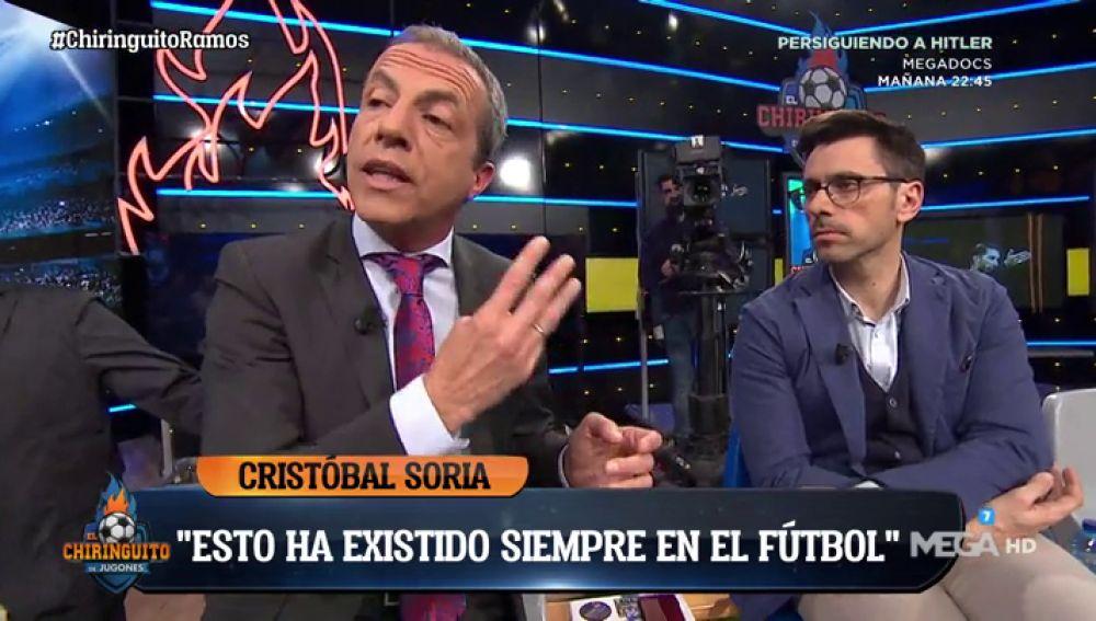 """Cristóbal Soria: """"Yo metí en el campo a un jugador lesionado para que le amonestaran y cumpliera ciclo"""""""