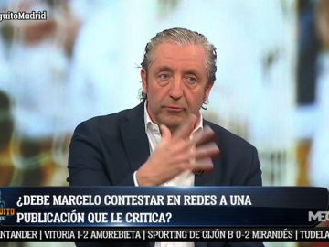 "Josep Pedrerol: ""No me gusta nada el favoritismo de Solari"""