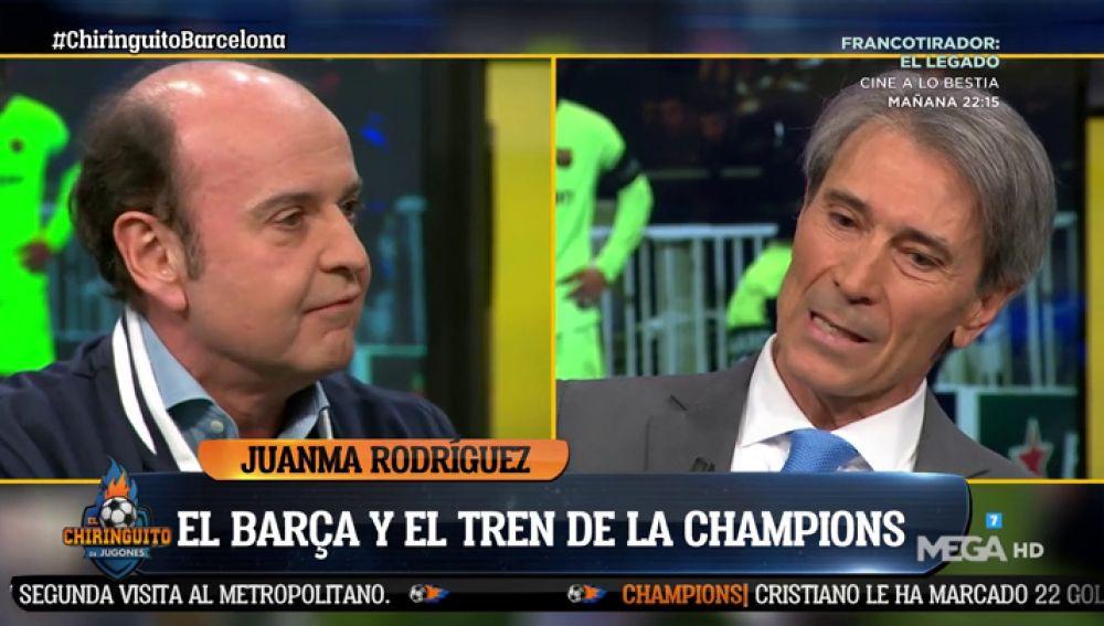 """Juanma Rodríguez: """"La estación del Barça es Arrivederci Roma"""""""