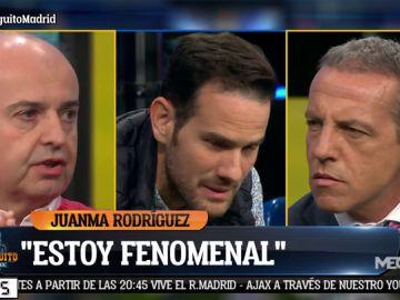 """Juanma Rodríguez: """"Como el Real Madrid gane la decimocuarta, mi venganza va a ser terrible"""""""