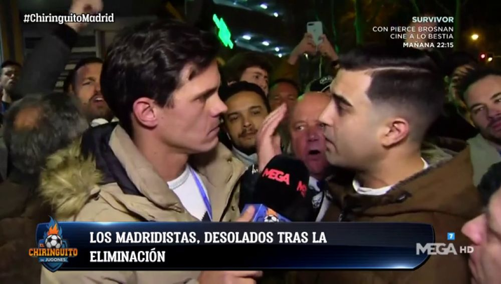 La afición del Madrid, más crítica que nunca tras la eliminación ante el Ajax