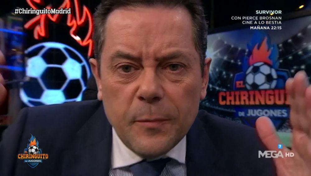 """Tomás Roncero: """"Es mi semana más dura como madridista"""""""