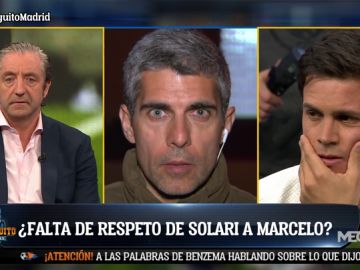 """José Luis Sánchez: """"No ha habido saludo entre Solari y Marcelo"""""""