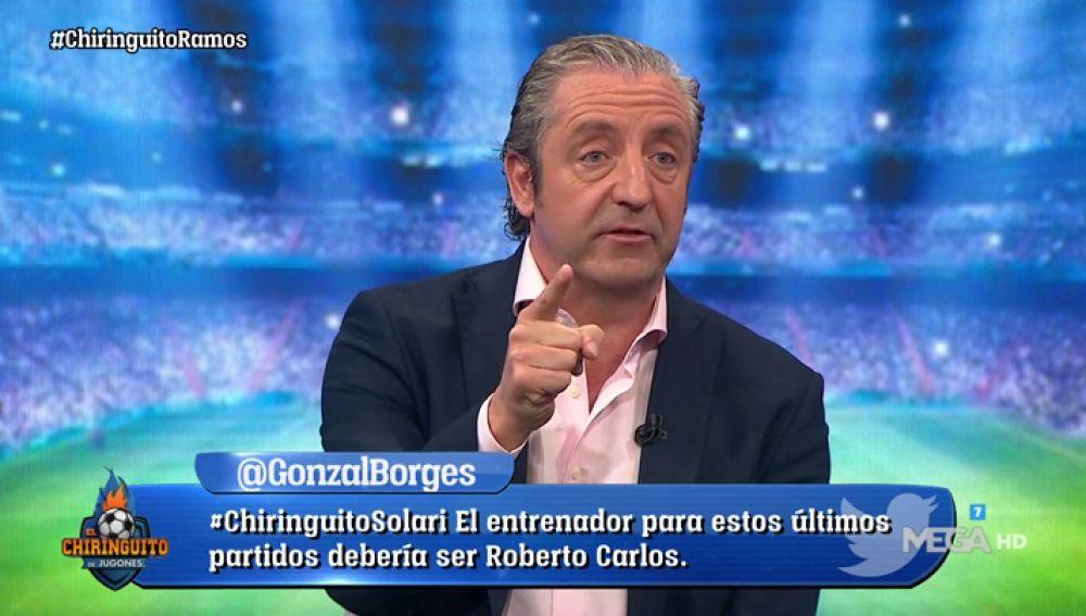 """Josep Pedrerol: """"Sergio Ramos ha fracasado con todos"""""""
