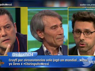 """Tomás Roncero: """"Dios no se toma días libres y Messi sí"""""""