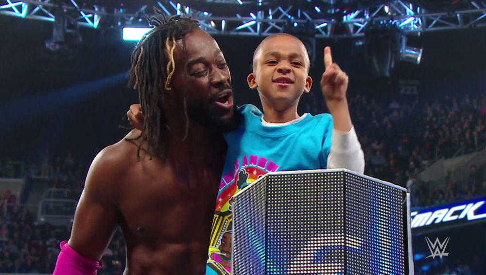The New Day brilla en 'SmackDown'