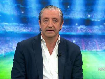 """Josep Pedrerol: """"Zidane tiene dos opciones: dimitir o echar a doce jugadores"""""""