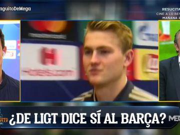 Roncero felicita a los culés por la clasificación a semifinales... ¿De forma sincera?