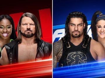 MÁS WWE te trae el listado completo del Superstar Shake-Up Internacional 2019 de WWE