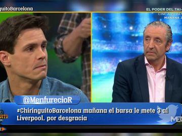 """Edu Aguirre: """"Que eliminen al Barça en Champions es la ilusión que le queda al madridismo"""""""