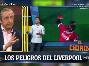 """Diego Plaza: """"Al Liverpool le viene perfecto el juego del Barça"""""""