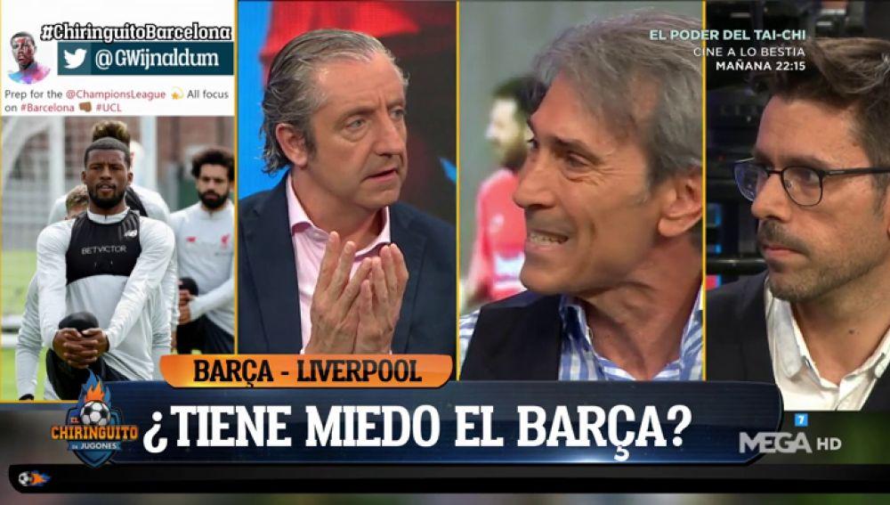 """Lobo Carrasco: """"Es el partido más deseado. Es el momento de quitarse la herida"""""""