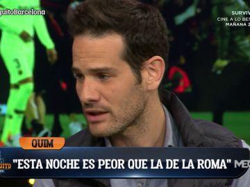 """Quim Domènech: """"Espero que Valverde no siga en el Barça"""""""