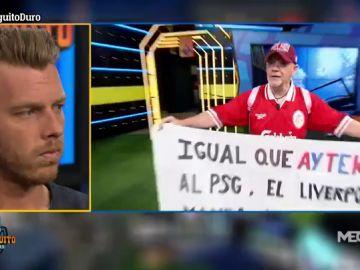 """La nueva canción de Alfredo Duro: """"Igual que Aytekin al PSG, el Liverpool manda al Barça al carrer"""""""