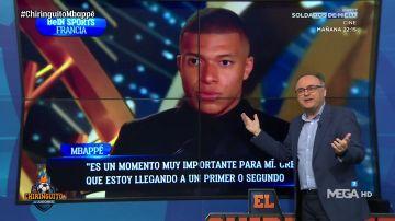 """Martín Ovejero: """"Mbappé baja la mirada al hablar del PSG y la levanta cuando piensa en otro proyecto"""""""