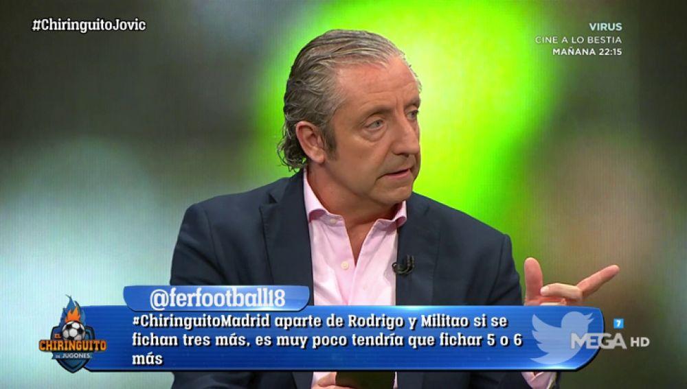 """Josep Pedrerol: """"El Barça está hablando con Filipe Luis para que llegue libre"""""""
