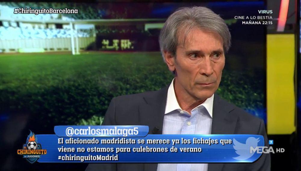"""Lobo Carrasco: """"Ter Stegen está en el Barça por una buena opinión de Jorge D'Alessandro"""""""