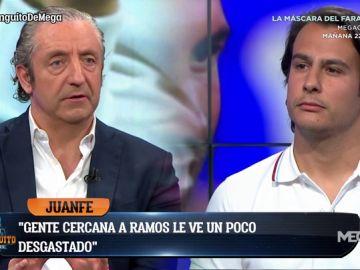 """Juanfe Sanz: """"El entorno de Sergio Ramos lo ve desgastado, no se descarta que se vaya del Real Madrid"""""""