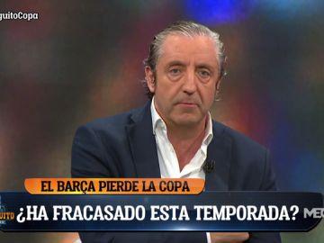 """Josep Pedrerol: """"¡Esto es de vergüenza! El Barça necesita jugadores que sientan el escudo. Y que dimita Bartomeu"""""""
