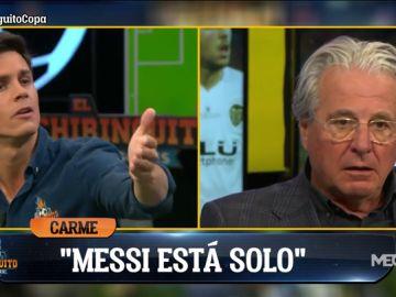 """Edu Aguirre: """"¿Que Messi está solo? ¿Qué pensará Benzema? ¿O Cristiano? ¡No vendáis la moto!"""""""