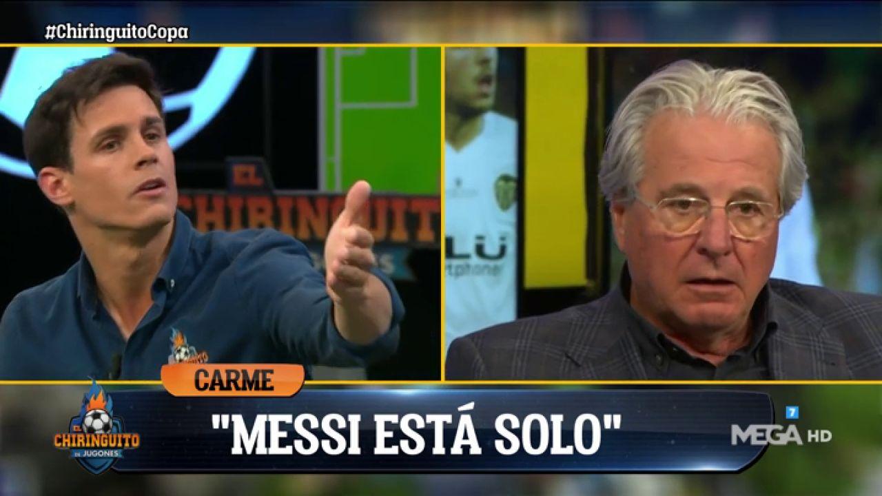 """Edu Aguirre: """"¿Que Messi Está Solo? ¿Qué Pensará Benzema"""